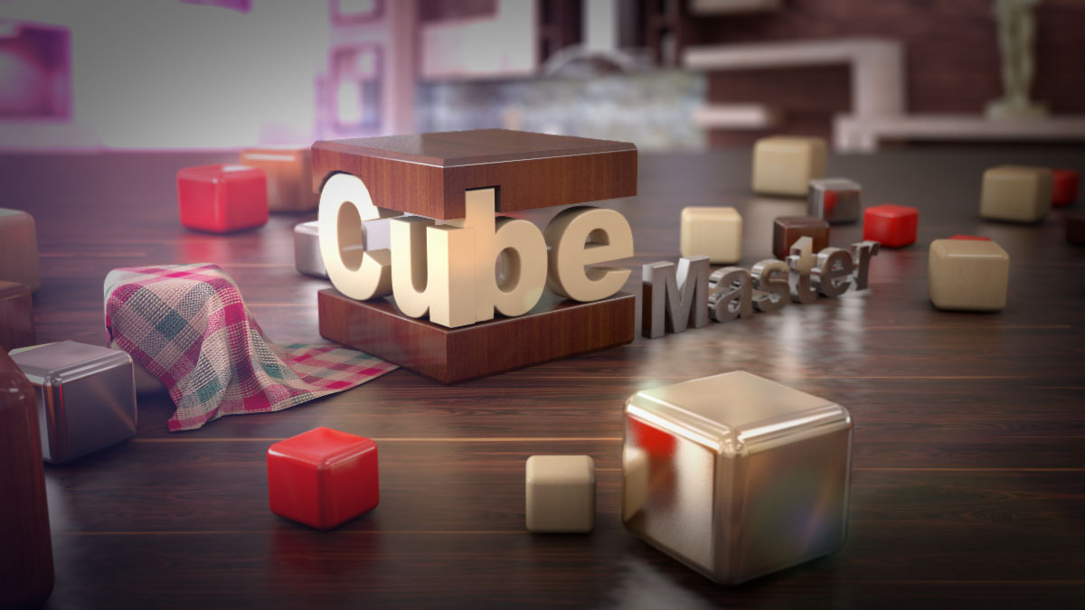 Cube master 3D animation services
